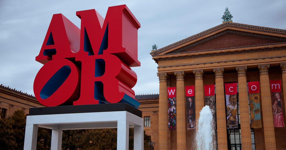 Картинки по запросу Philadelphia Museum of Art AMOR