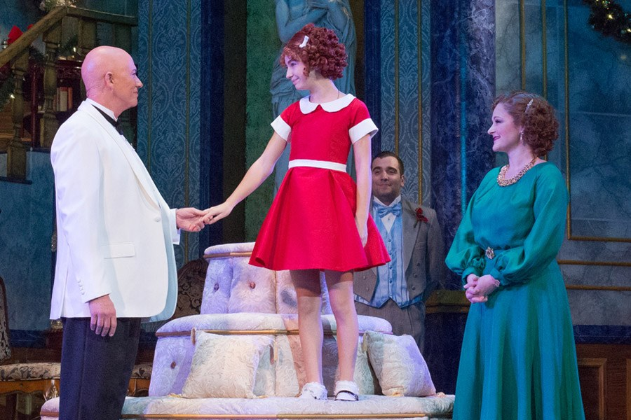 Annie at the Walnut Street Theatre