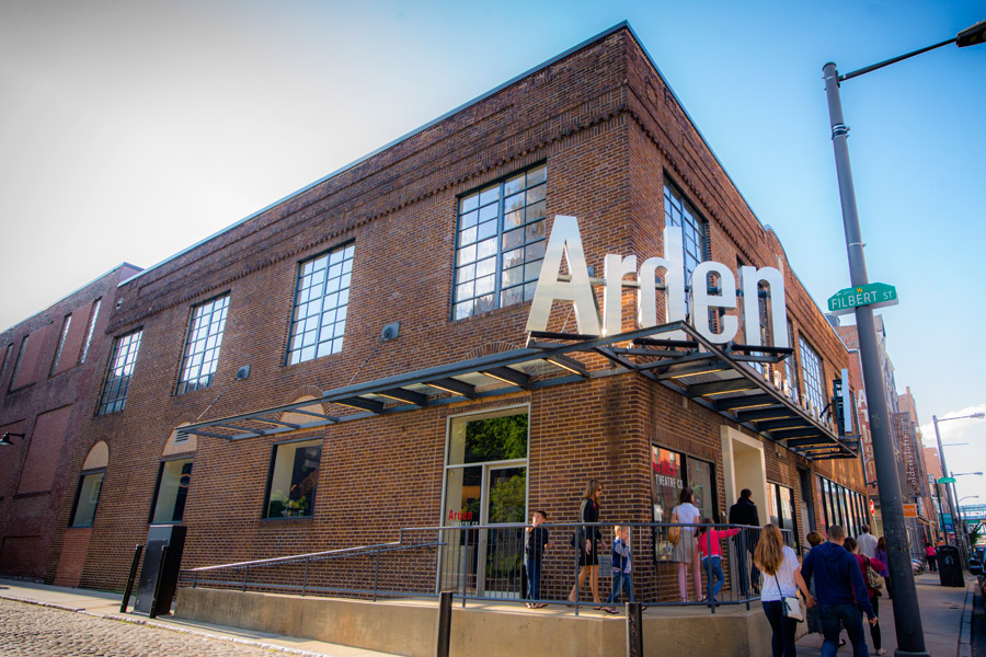exterior of the arden theatre