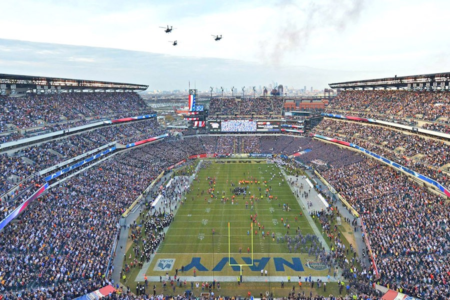 Army-Navy Game at Lincoln Financial Field