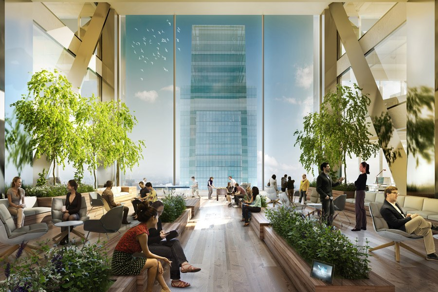 Rendering of the Comcast Technology Center