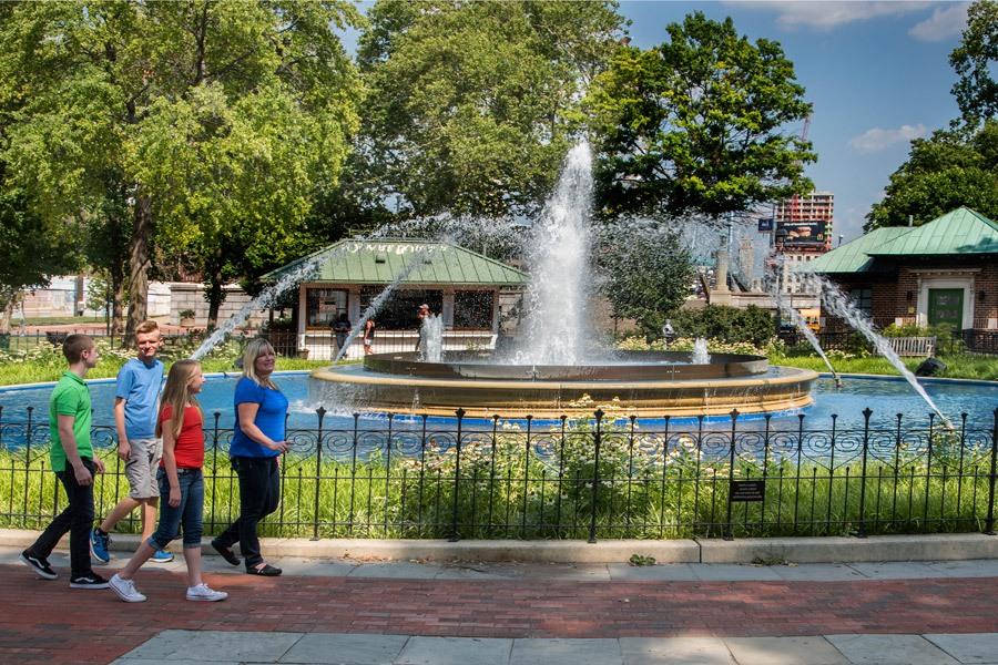Franklin Square hosts a Saturday Night Movie Series.