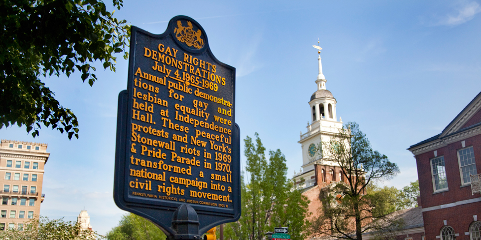 20 essential lgbt sites in philadelphia visit for Places to visit philadelphia