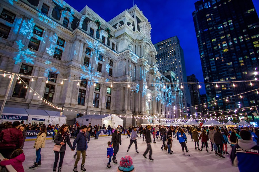 The Rothman Ice Rink at Dilworth Park
