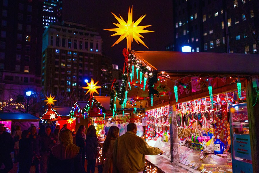 christmas village in philadelphia - Holiday Christmas Lights