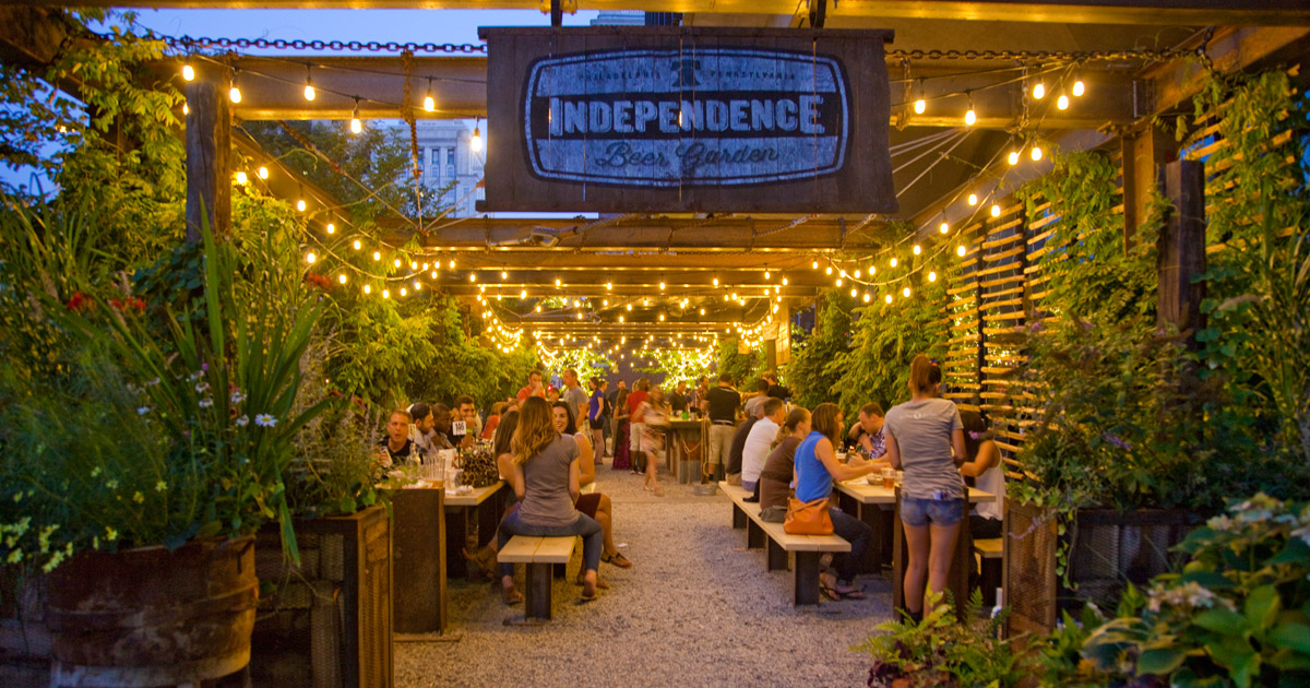 This Is How Beer Gardens In Dc Are Changing Eating Experience