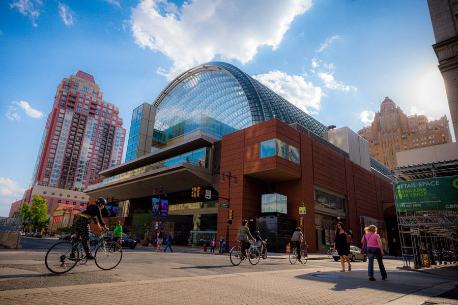 The Kimmel Center in Philadelphia