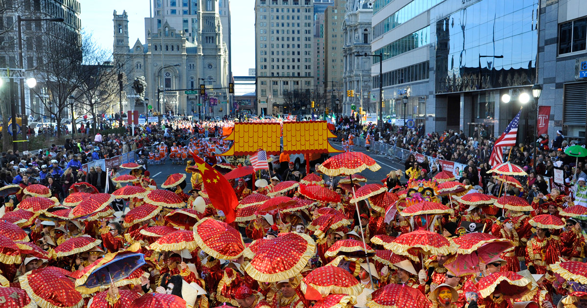 The 2015 Philadelphia Mummers Parade Welcomes the New Year with a ...