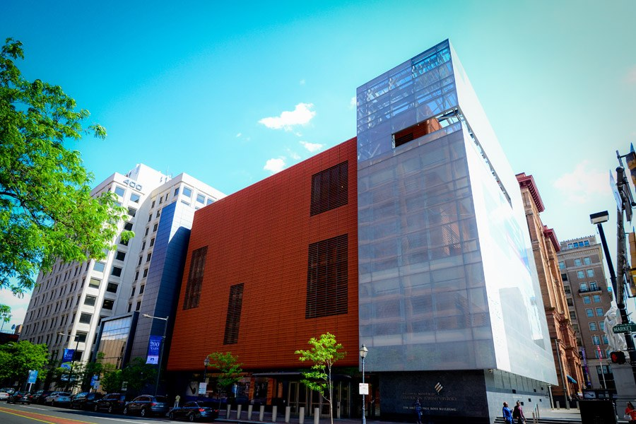 exterior of national museum of american jewish history