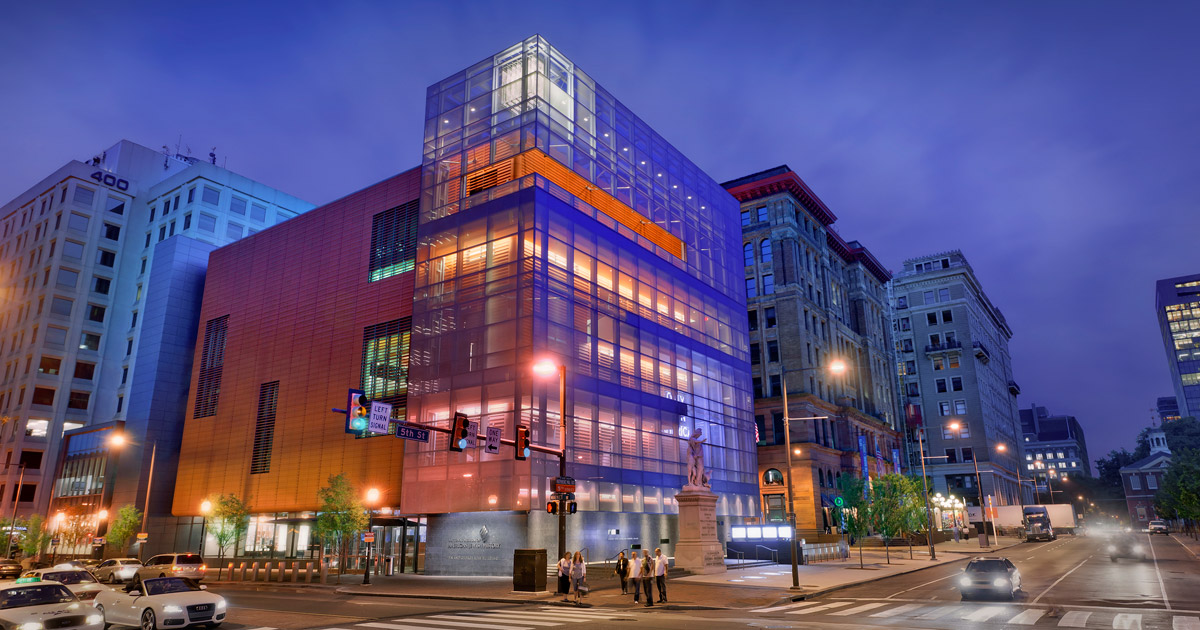 National museum of american jewish history visit for Places to visit philadelphia