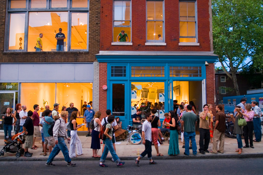 First Friday in Old City