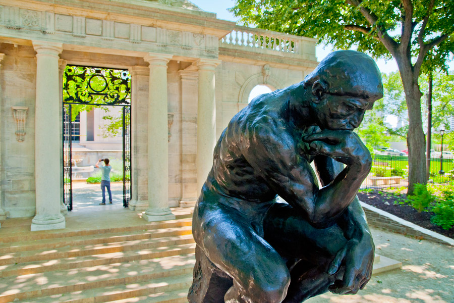 Pay What You Wish At The Rodin Museum