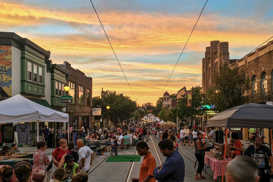 Supper Sessions on the Avenue in Mt. Airy