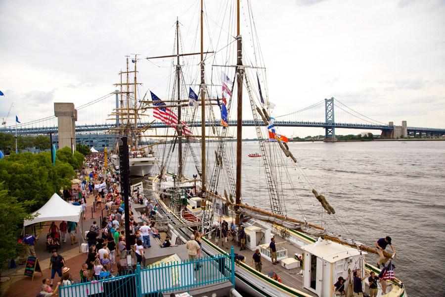 tall ships in philadelphia