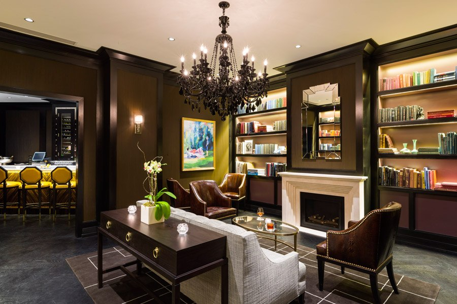 The Library Bar at The Rittenhouse Hotel