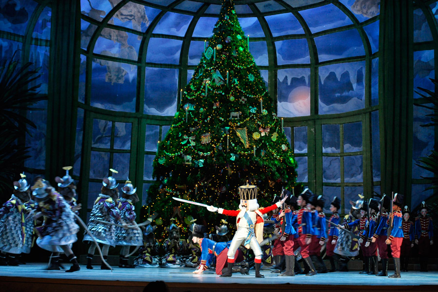 Pennsylvania Ballet's production of George Balanchine's The Nutcracker