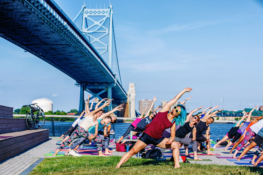 Race Street Pier Yoga
