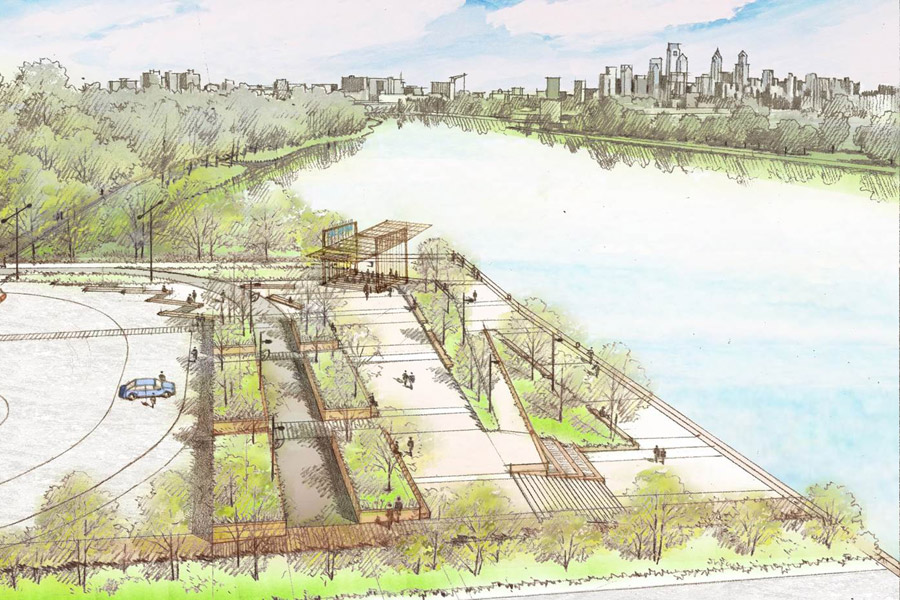 rendering of bartram's trail expansion