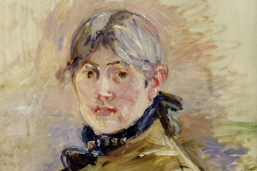 Self portrait of Berthe Morisot