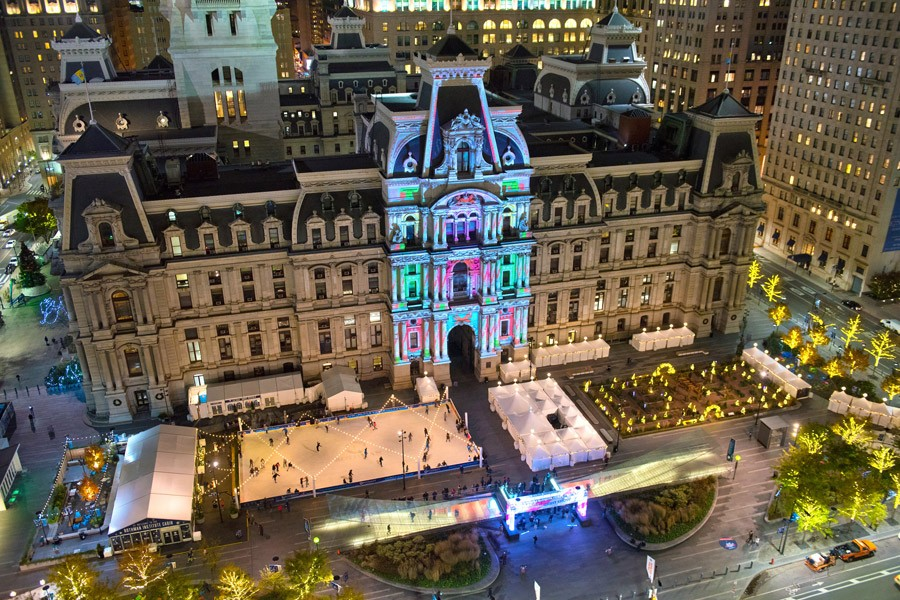 Philadelphia Christmas Lights
