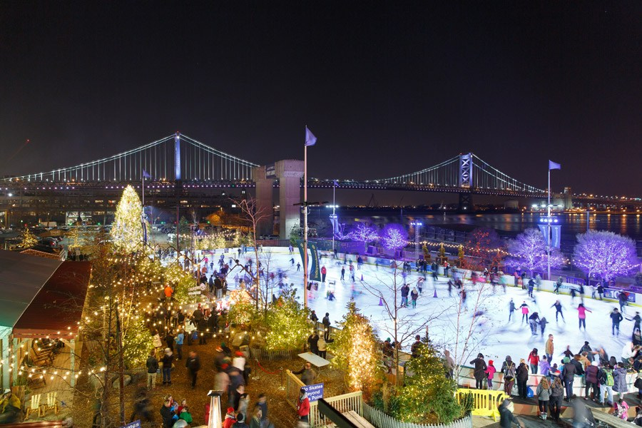 Blue Cross RiverRink Winterfest at Penn's Landing