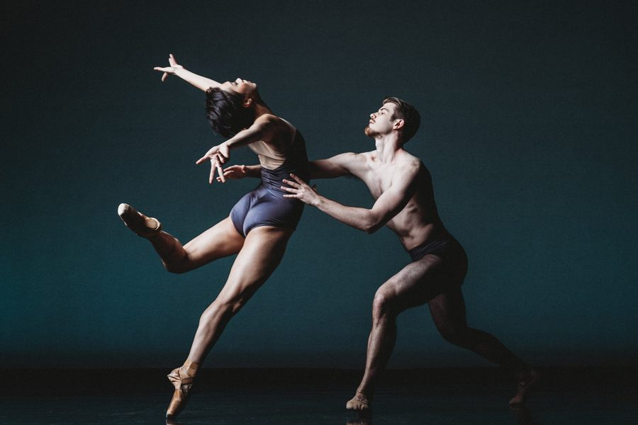 A dance performance by Ballet X