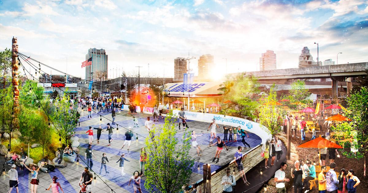 Image result for river rink summerfest