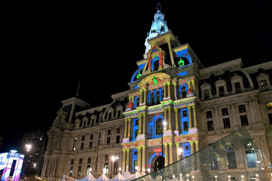 Deck the Hall Light Show at City Hall & The Top Places to View Holiday Lights In Philadelphia for 2017 ... azcodes.com