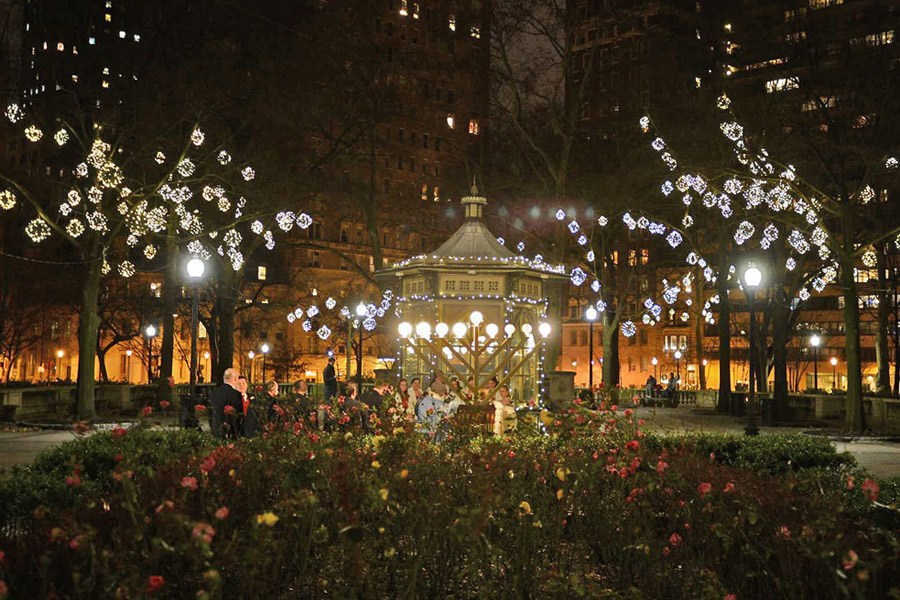 Menorah Lighting at Rittenhouse Square