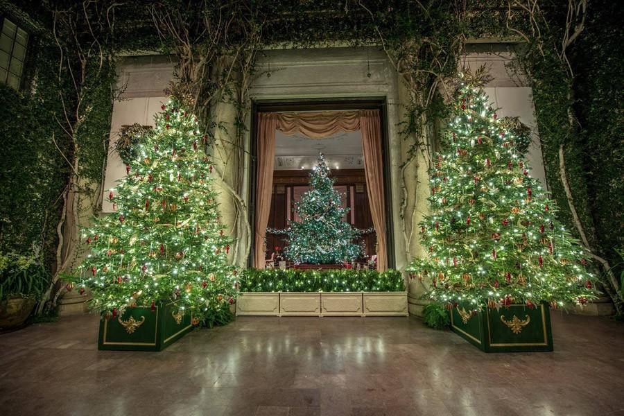 Longwood Gardens' Christmas decorations