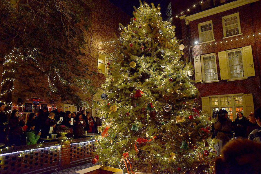A guide to tree lighting celebrations in philadelphia for