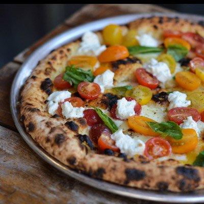 pizza from pizzeria vetri