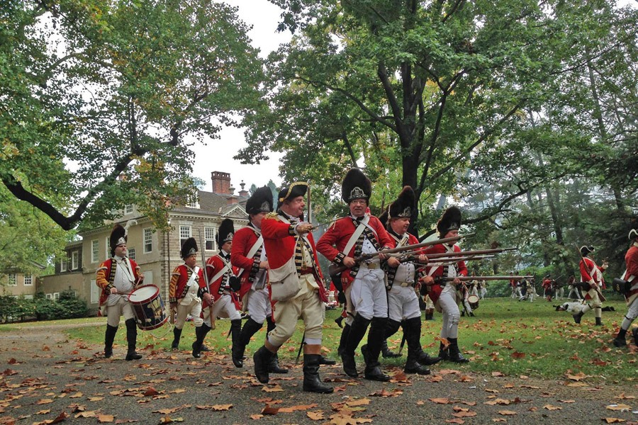Enjoy the annual celebration of the Battle of Germantown at Grumblethorpe.