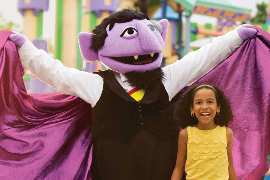 Sesame Place's annual Halloween Spooktacular features fun for the whole family.