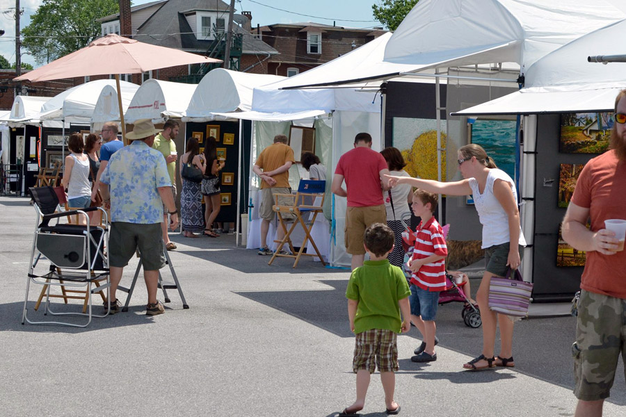Downingtown fine arts festival