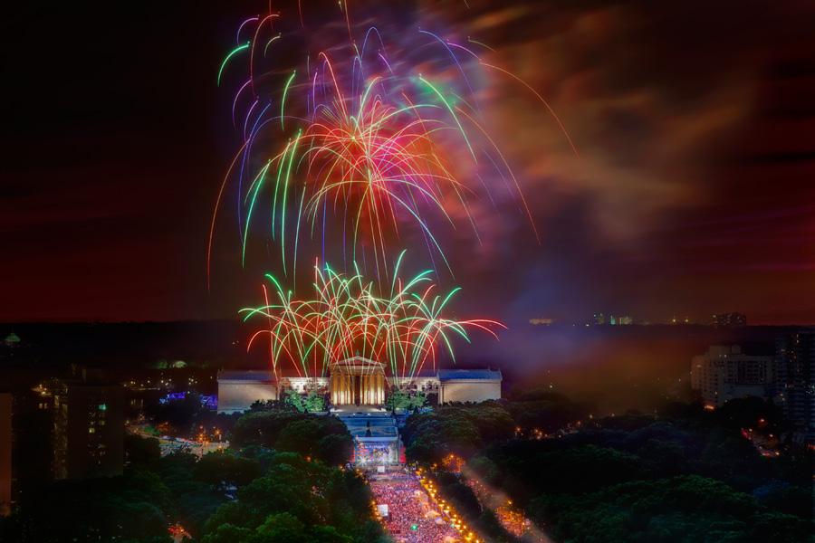 Wawa fireworks