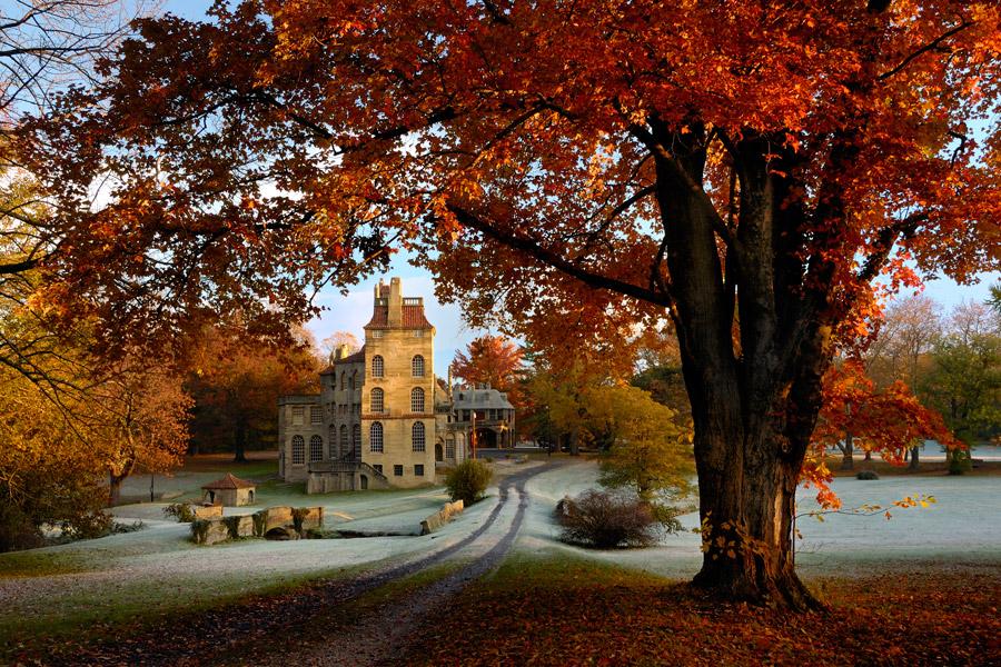10 Verbazingwekkende Plaatsen om te bekijken Loof vallen in PA Pennsylvania