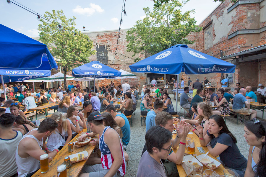 frankford beer garden