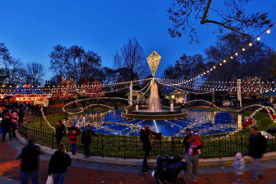 Franklin Square Holiday Light Show