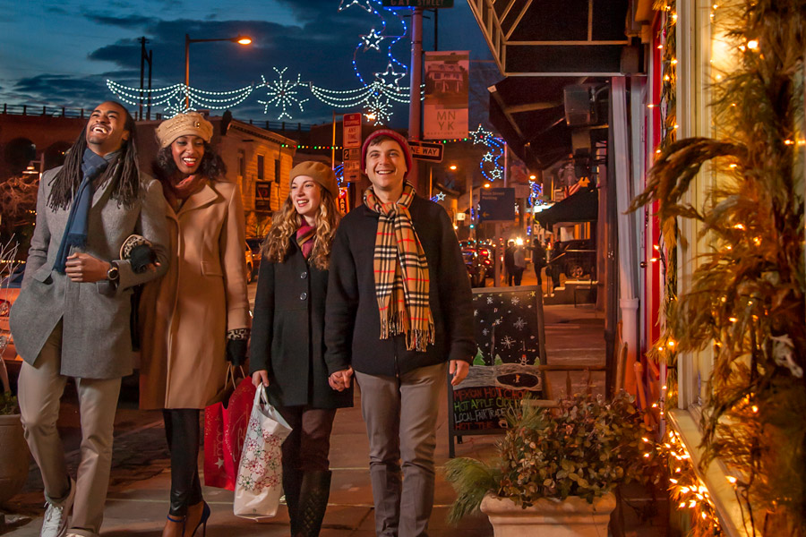 Best places for holiday shopping in philadelphia visit for Best places for christmas shopping