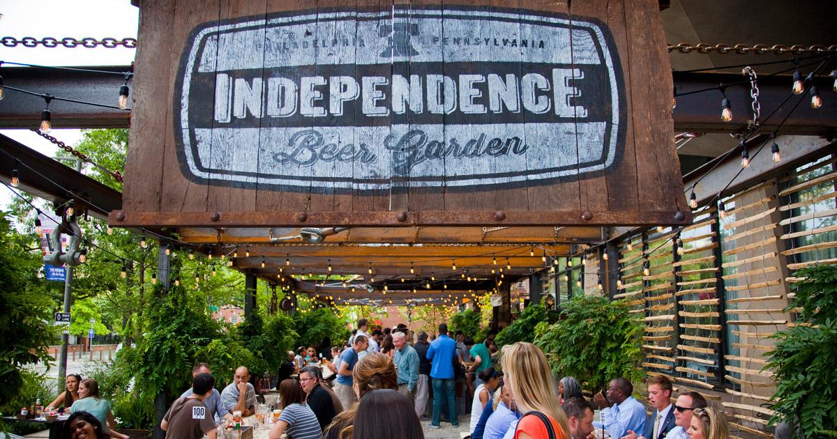Independence Beer Garden Visit Philadelphia