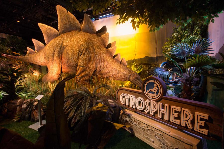 dinosaur at jurassic world