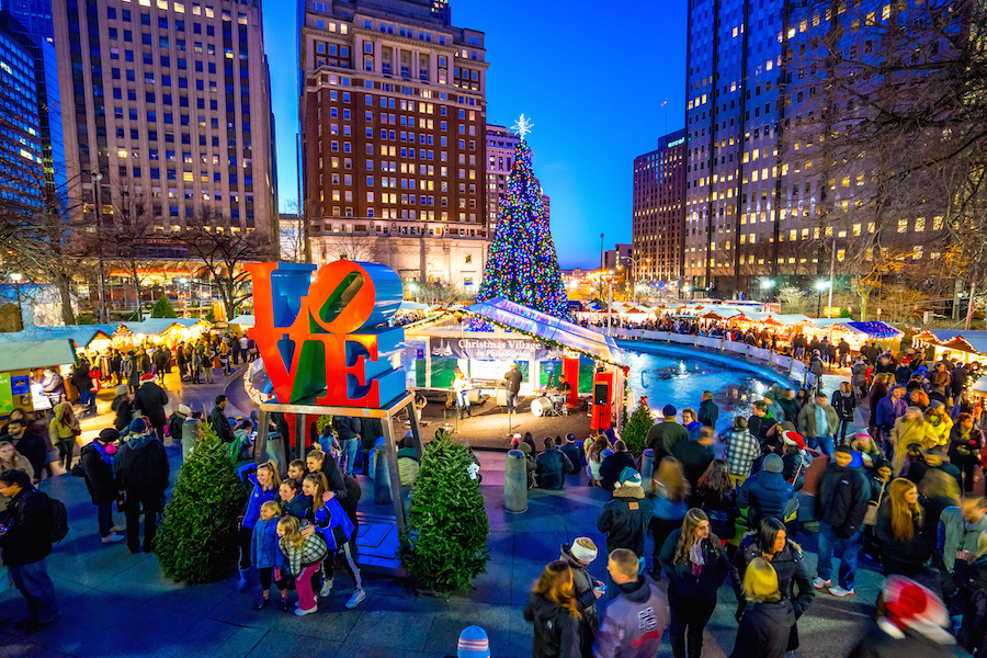 The 15 must see holiday attractions in philadelphia for for Places to visit philadelphia