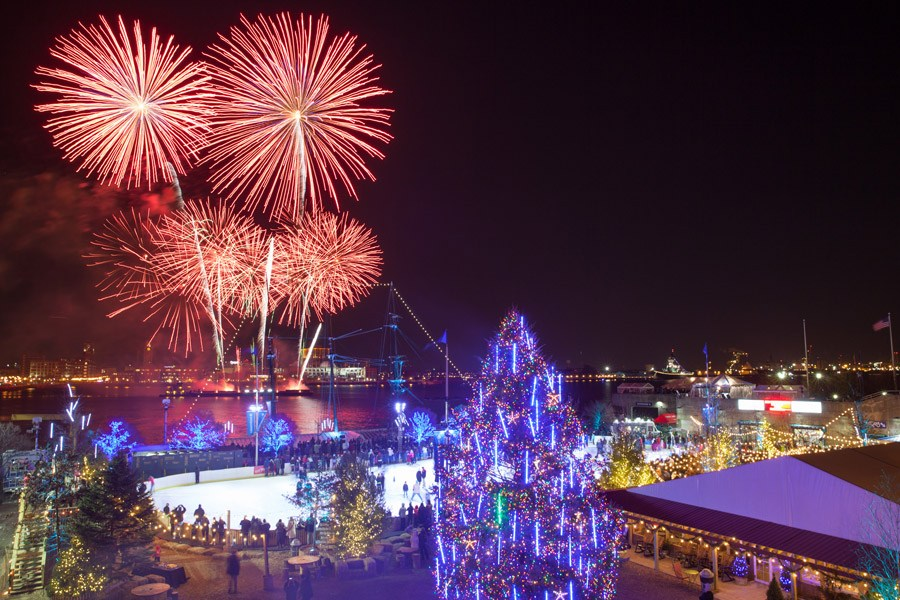 SugarHouse Casino New Year's Eve on the Waterfront