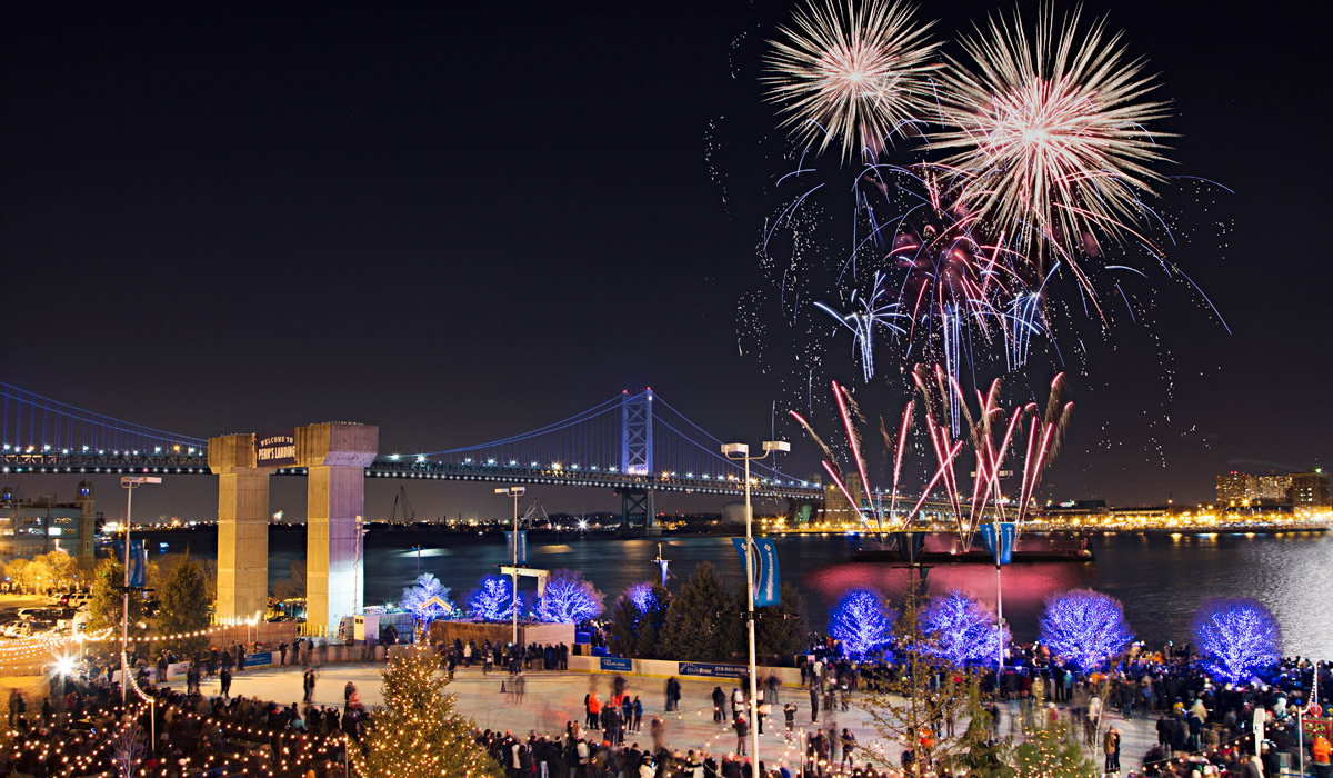 Top places to celebrate new year s eve in philadelphia for for Places to visit philadelphia