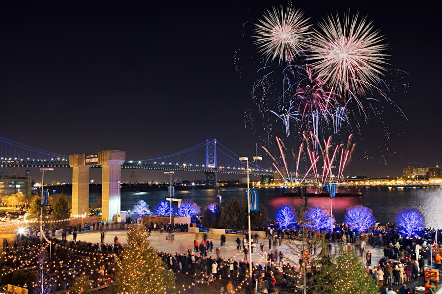 fire worrks where to watch new years eve fireworks in philadelphia for 2016