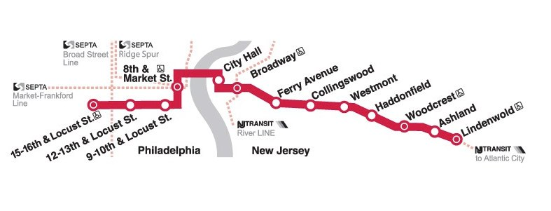 PATCO Map