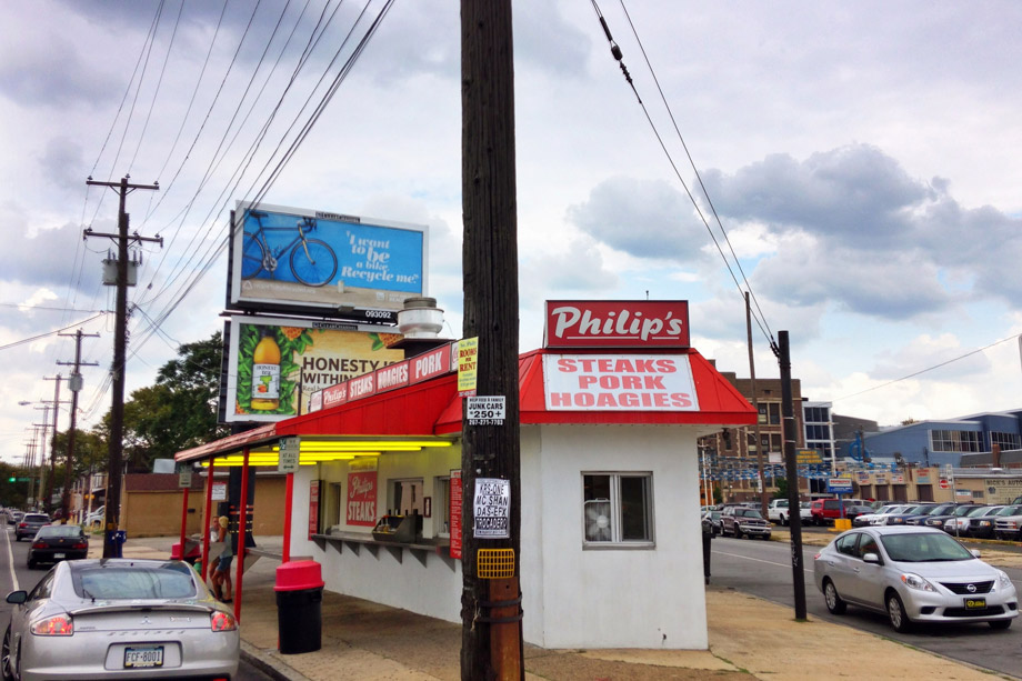 Philip's Steaks in South Philadelphia