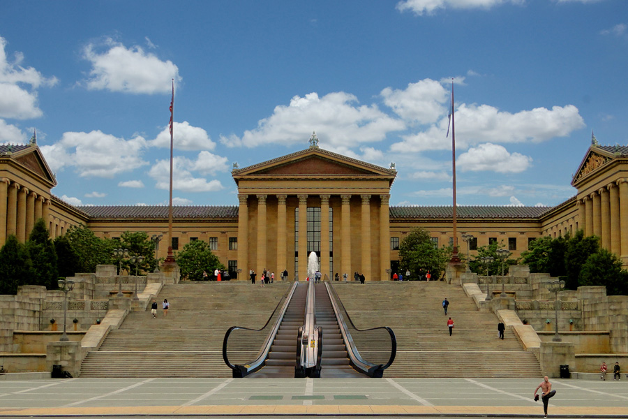 New Escalator Coming to the Steps of the Philadelphia Museum of ...