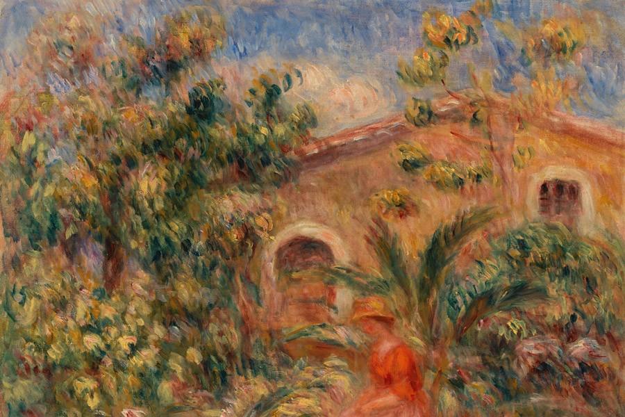 Pierre-Auguste Renoir's landscape painting